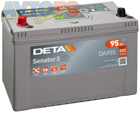 Аккумулятор Deta DA955