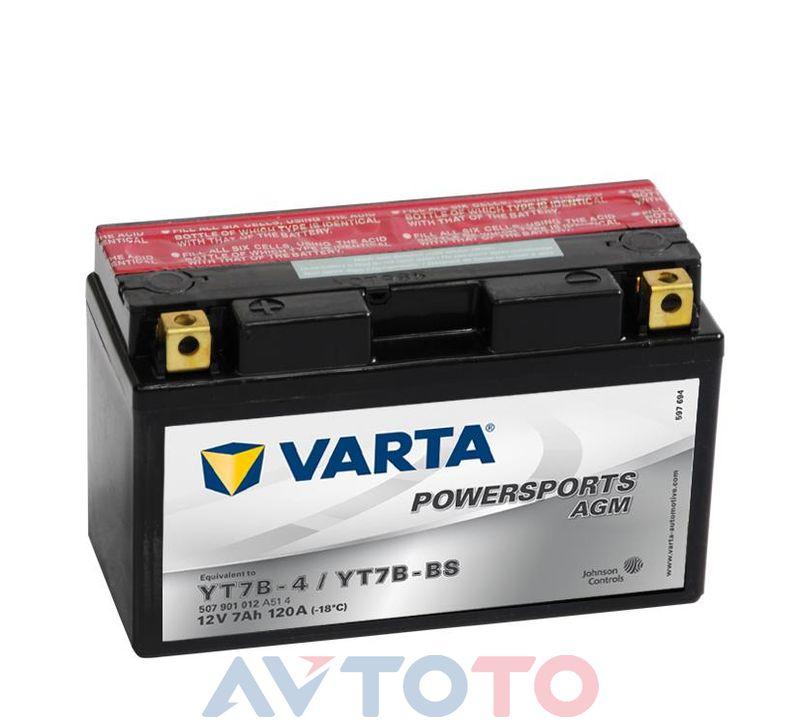 Аккумулятор Varta 507901012