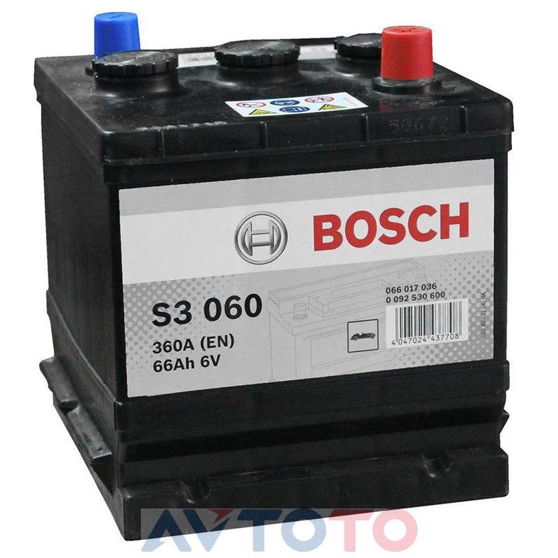 Аккумулятор Bosch 0092S30600