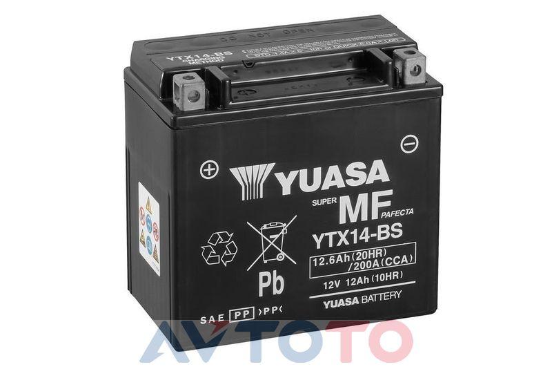 Аккумулятор Yuasa YTX14BS