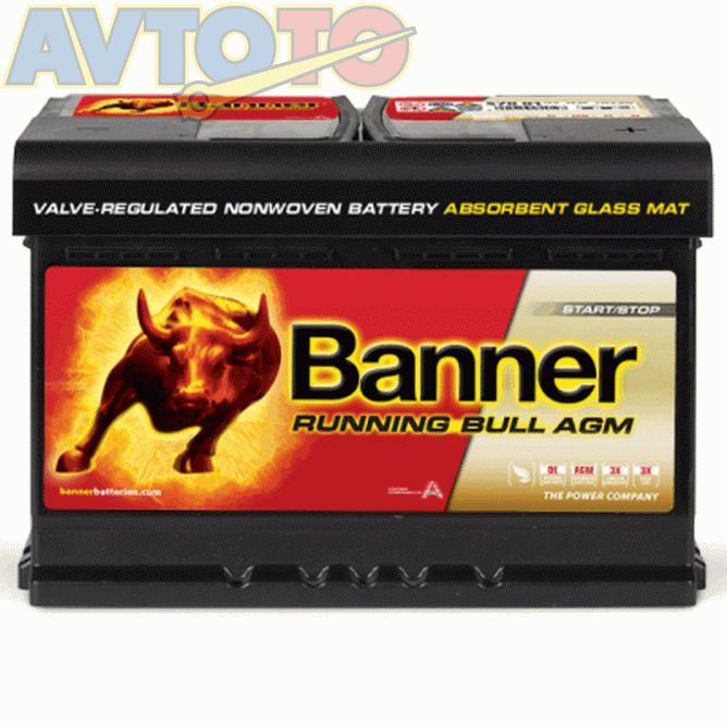 Аккумулятор Banner 57001