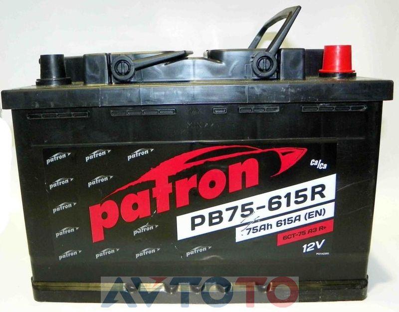 Аккумулятор Patron PB75615R