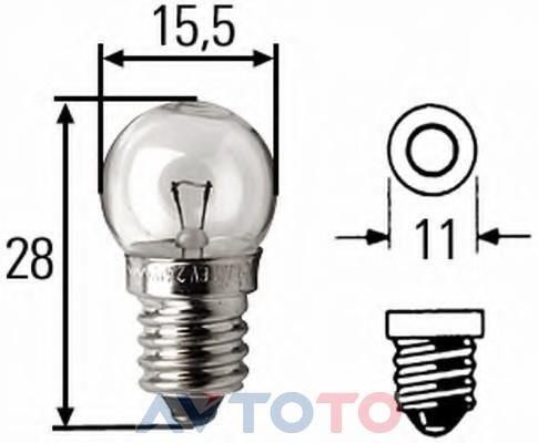 Лампа Hella 8GP002096061