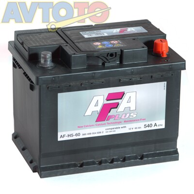 Аккумулятор AFA AFH560