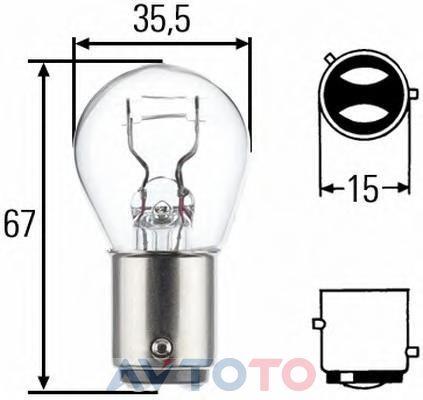 Лампа Hella 8GD002078123