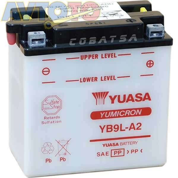 Аккумулятор Yuasa YB9LA2
