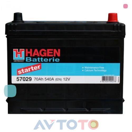 Аккумулятор Hagen 57029