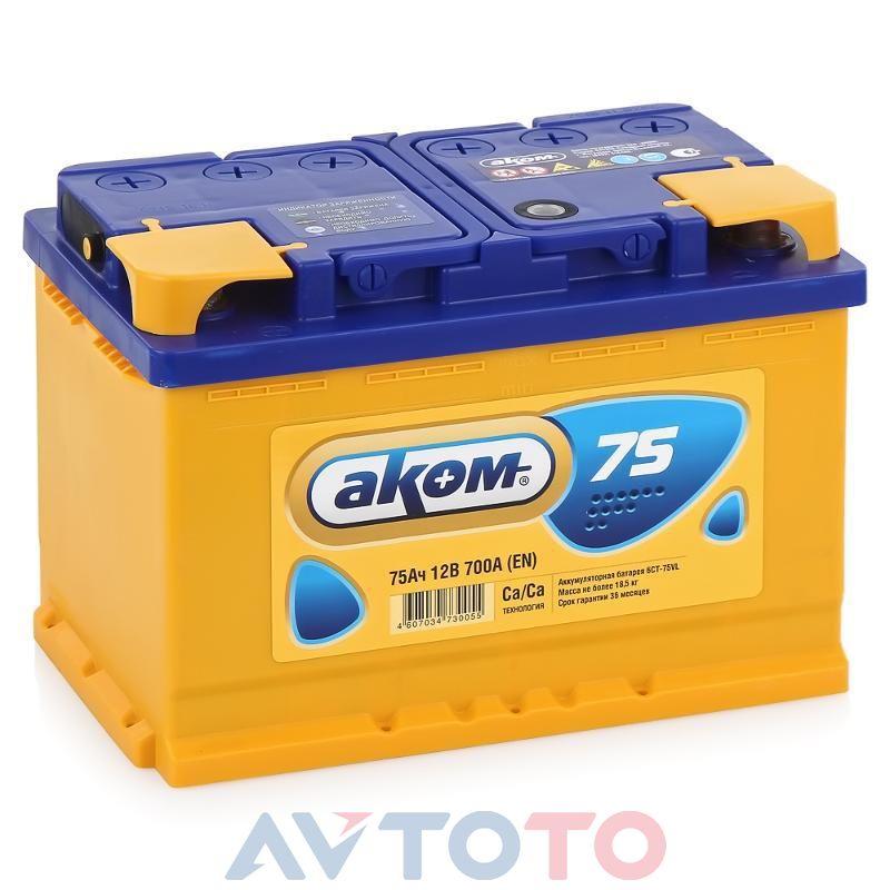 Аккумулятор Аком 4607034730055