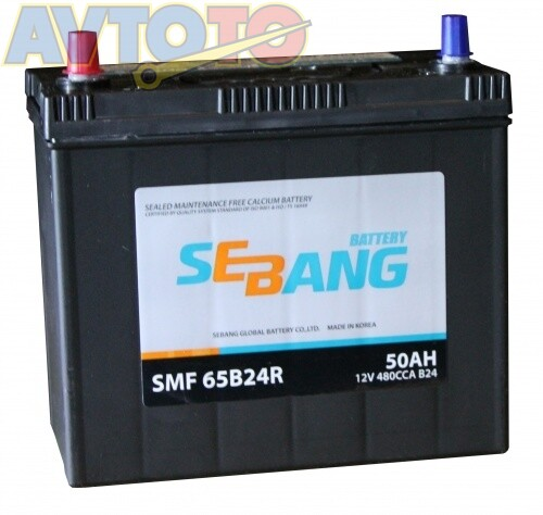 Аккумулятор Sebang SMF65B24R