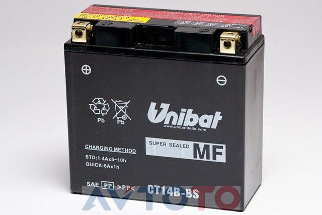 Аккумулятор UNIBAT BMCT14BBSU