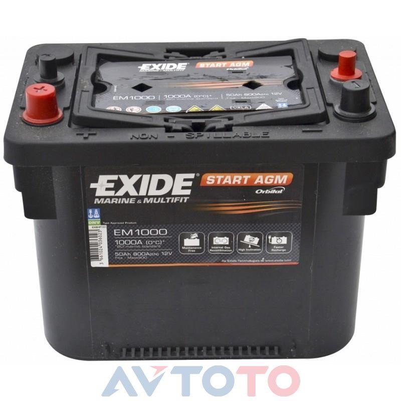 Аккумулятор Exide EM1000