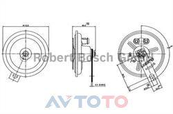 Сигнал звуковой Bosch 0320146103