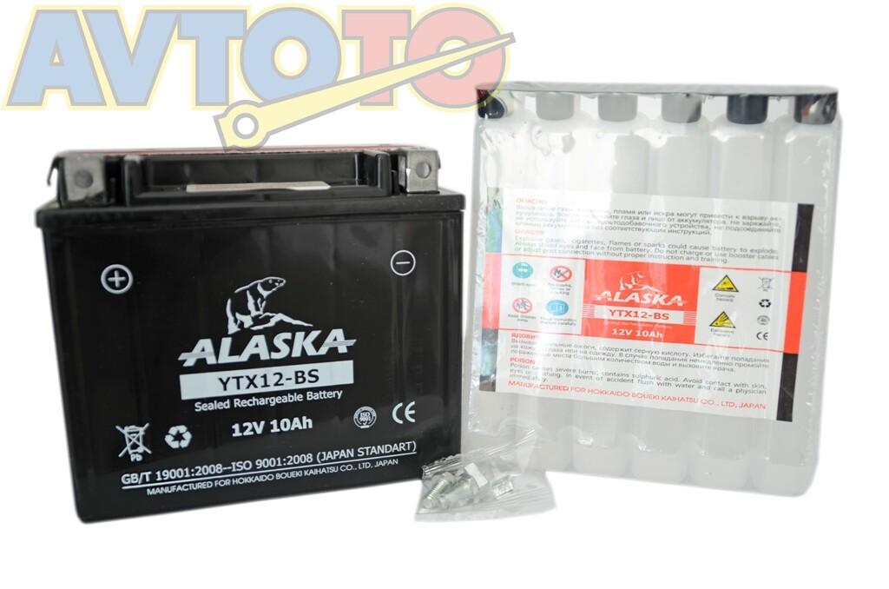 Аккумулятор Alaska YTX12BS