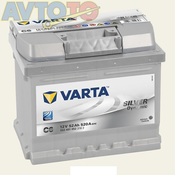 Аккумулятор Varta 5524010523162