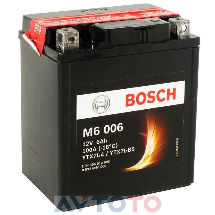 Аккумулятор Bosch 0092M60060