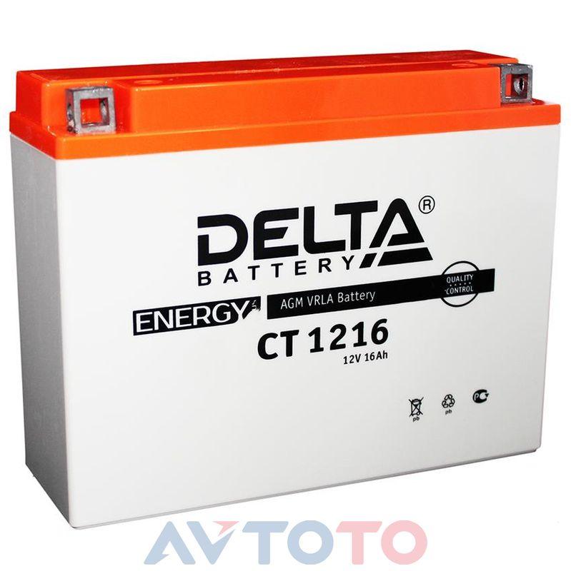 Аккумулятор Delta Battery CT1216