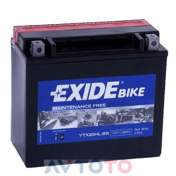 Аккумулятор Exide YTX20HLBS