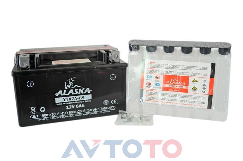 Аккумулятор Alaska YTX7ABS