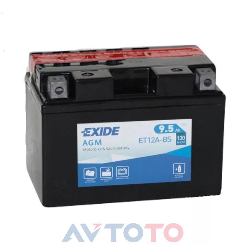 Аккумулятор Exide ET12ABS