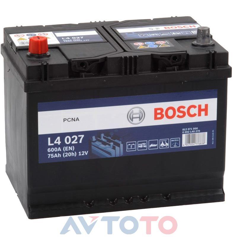 Аккумулятор Bosch 0092L40270