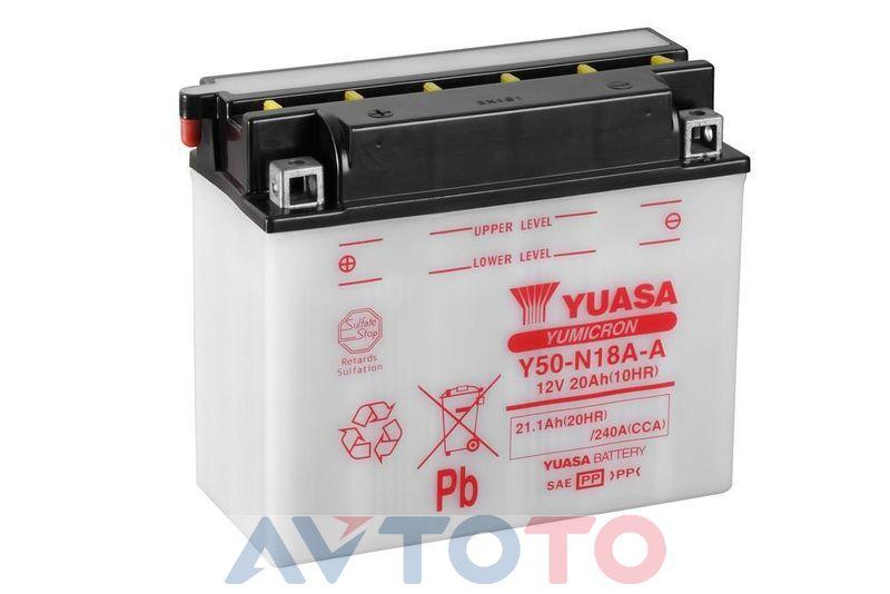 Аккумулятор Yuasa Y50N18AA