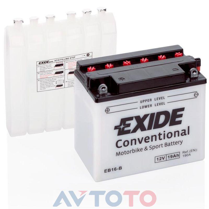 Аккумулятор Exide EB16B