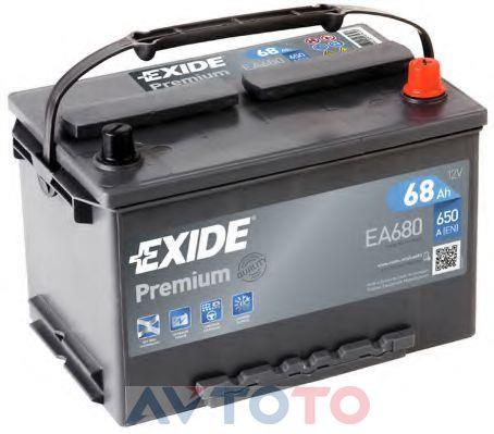 Аккумулятор Exide EA680