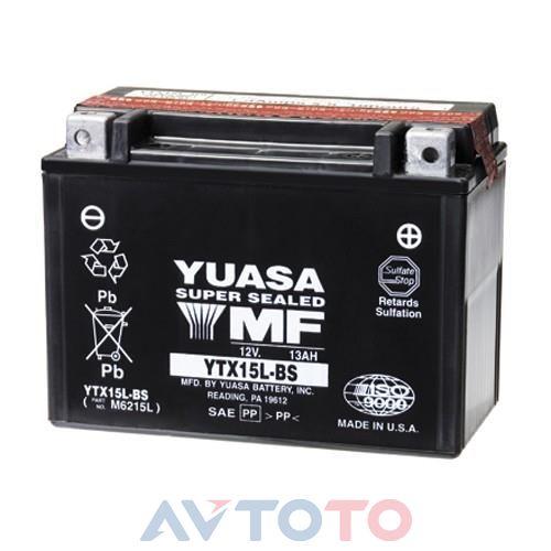 Аккумулятор Yuasa YTX15LBS