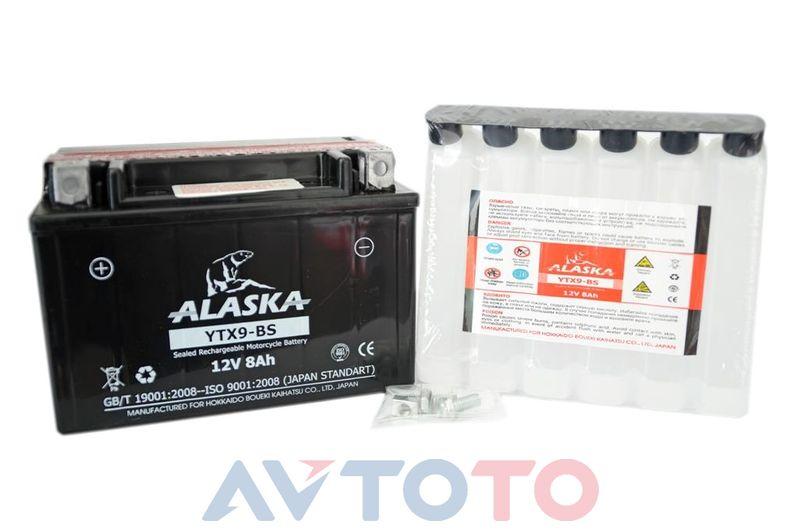 Аккумулятор Alaska YTX9BS