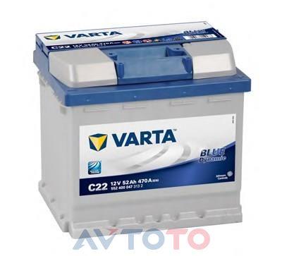 Аккумулятор Varta 5524000473132