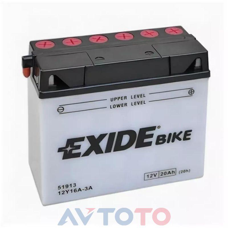 Аккумулятор Exide 12Y16A3A