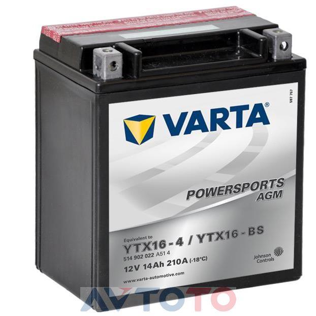 Аккумулятор Varta 514902022