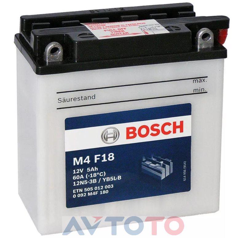 Аккумулятор Bosch 0092M4F180