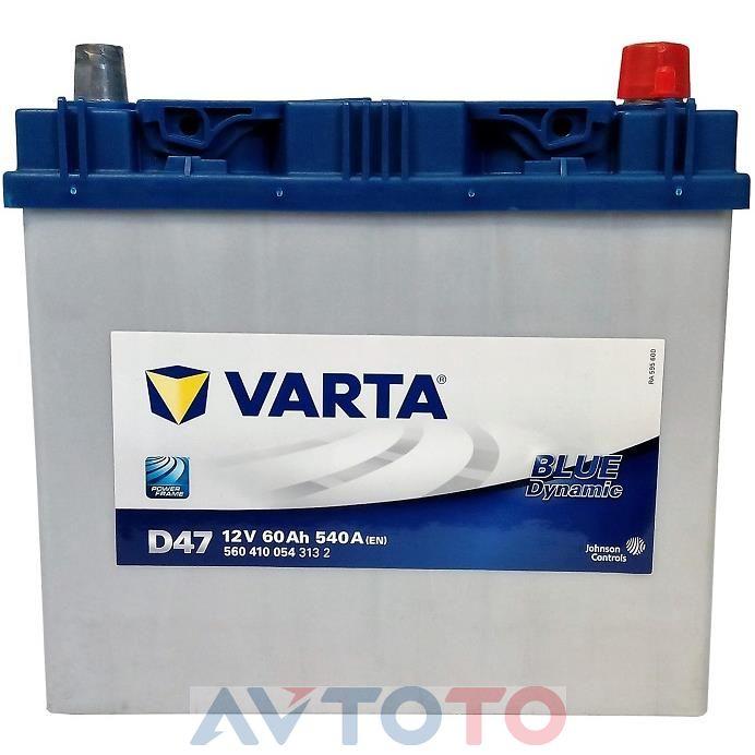Аккумулятор Varta 560410054