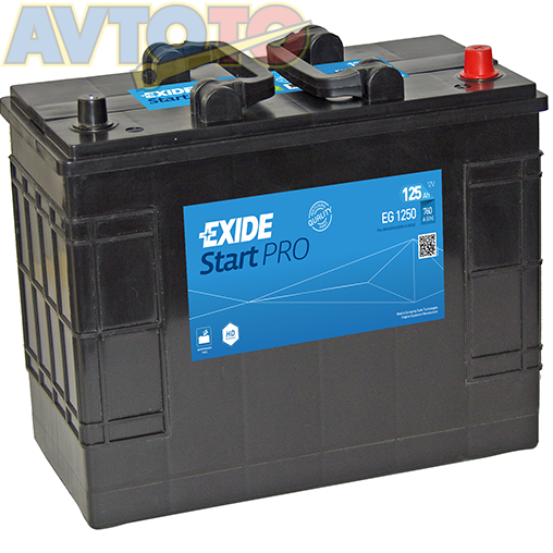 Аккумулятор Exide EG1250