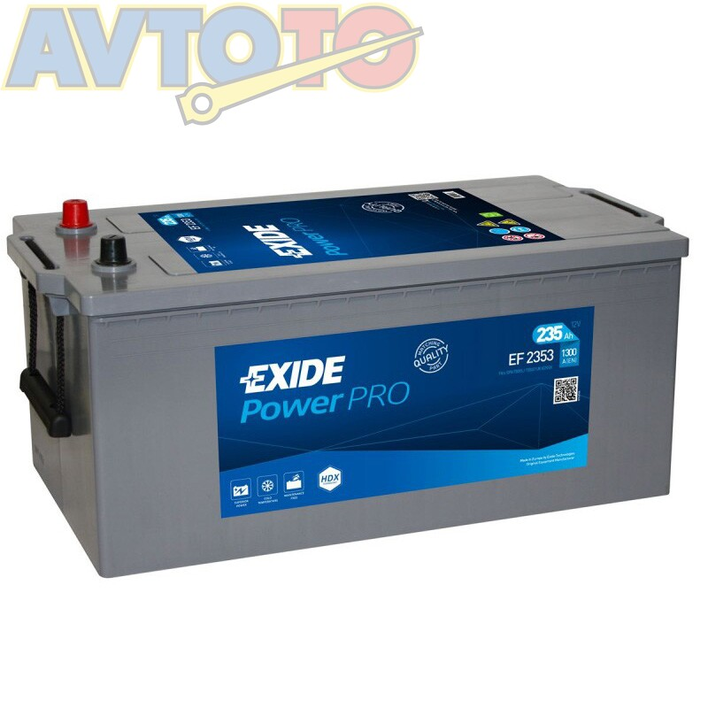 Аккумулятор Exide EF2353