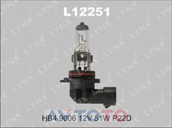 Лампа LYNXauto L1225101