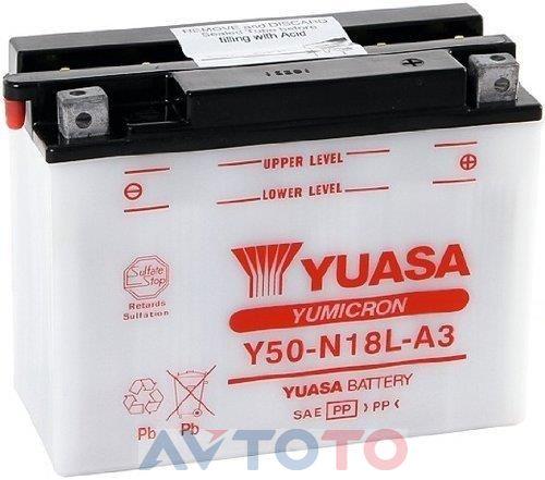 Аккумулятор Yuasa Y50N18LA3