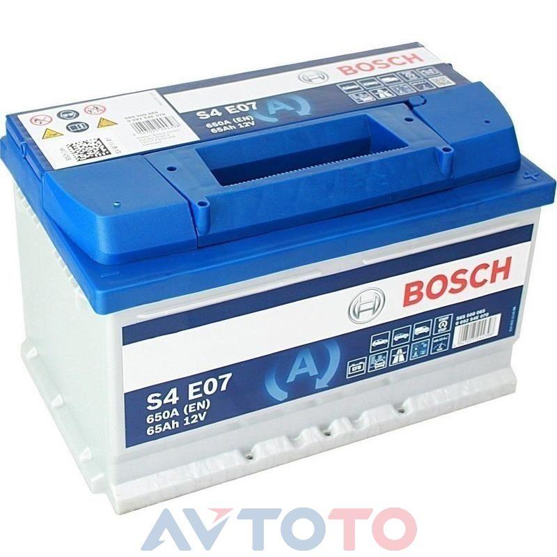 Аккумулятор Bosch 0092S4E070