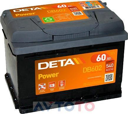 Аккумулятор Deta DB602