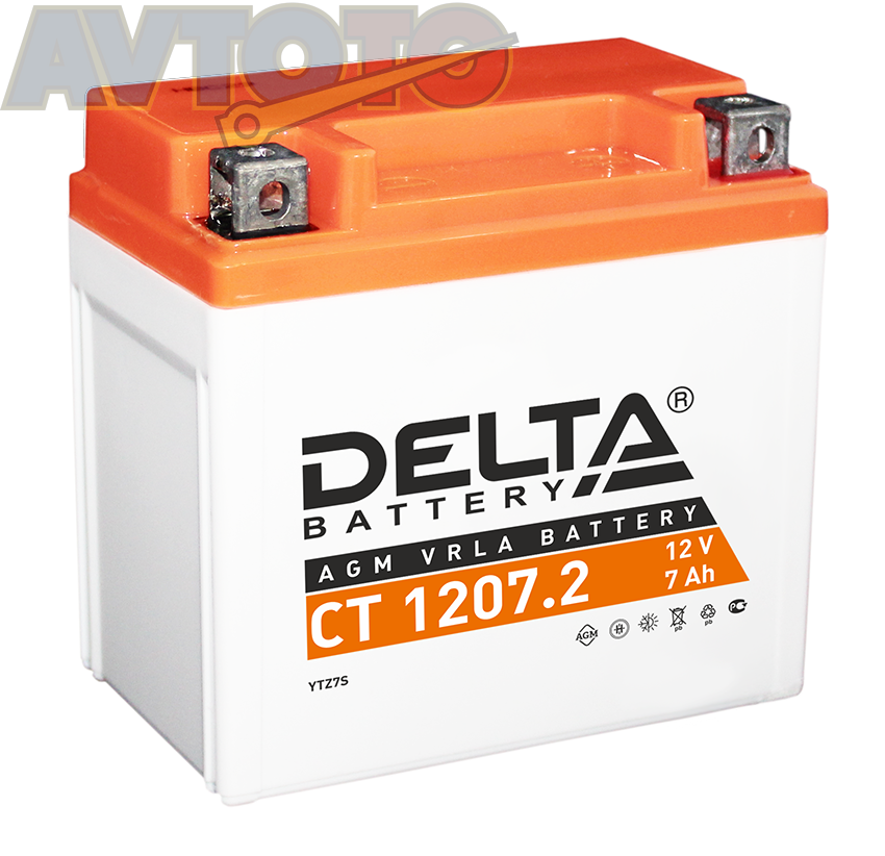 Аккумулятор Delta Battery CT12072