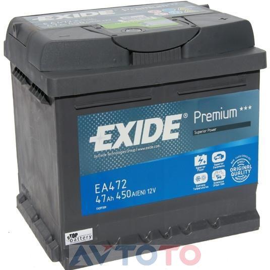 Аккумулятор Exide EA472
