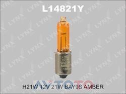 Лампа LYNXauto L14821Y