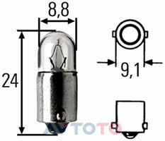 Лампа Hella 8GP002068131