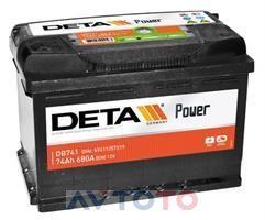 Аккумулятор Deta DB741