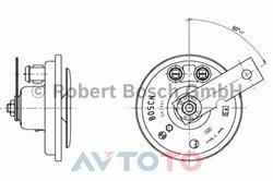 Сигнал звуковой Bosch 0320043023