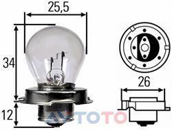 Лампа Hella 8GA008899061