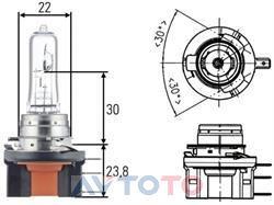 Лампа Hella 8GJ168119241