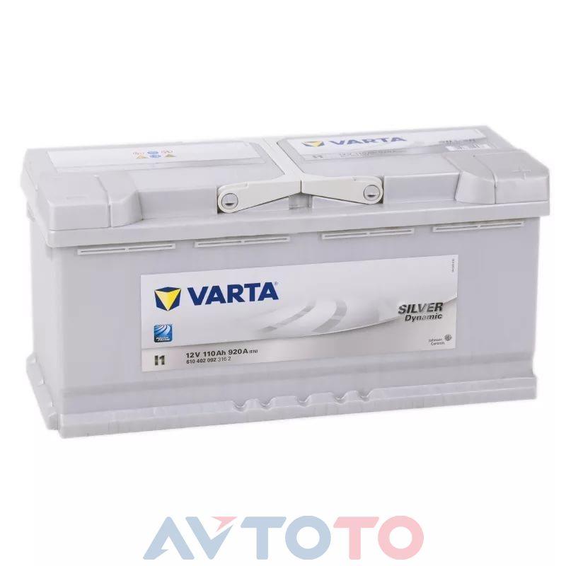 Аккумулятор Varta 610402092