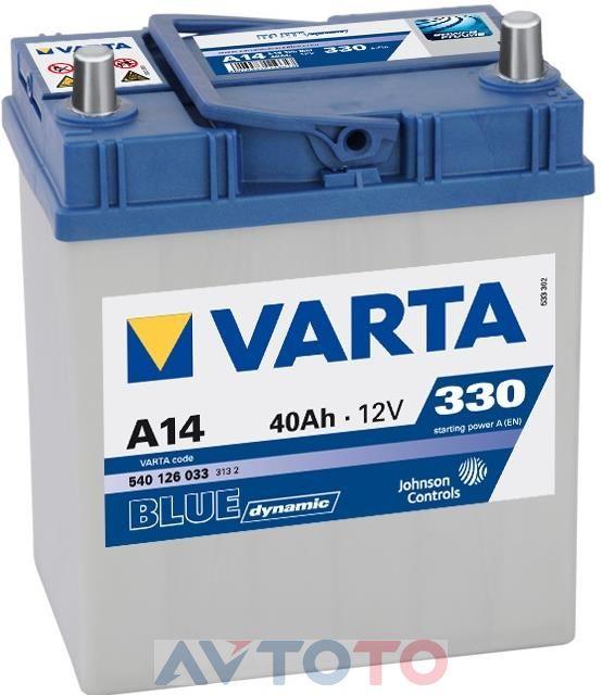 Аккумулятор Varta 540126033